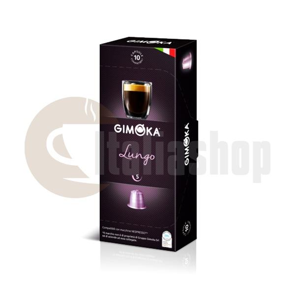 Gimoka Lungo Сapsule Compatibile Pentru Nespresso - 10 buc.