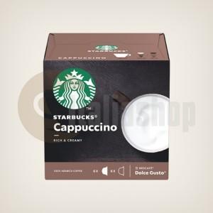 Starbucks Cappuccino Capsule pentru Dolce Gusto - 12 buc.