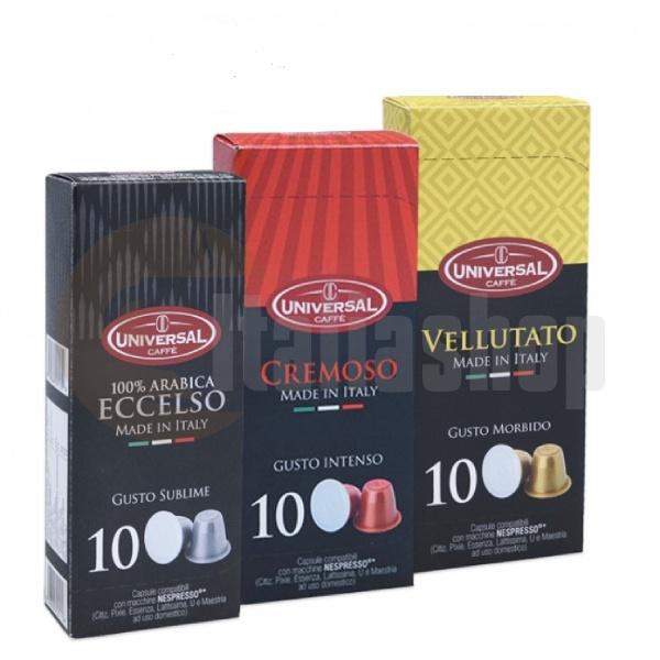 Nespresso Capsule Compatibile Compagnia Del Café Universal Pachet Din 3 Ambalaje