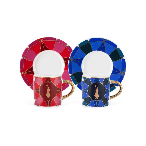 Bialetti Set de Crăciun din 2 Cești Pentru Cafea