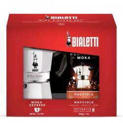 Bialetti Set de Craciun Moka Express și Cafea Măcinată