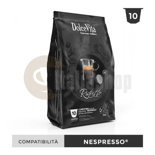 Dolce Vita Capsule Compatibile Nespresso Ristretto - 10 Buc.