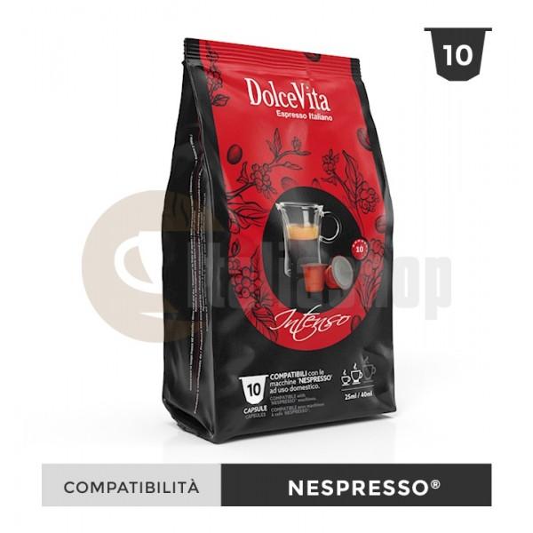 Dolce Vita Capsule Compatibile Nespresso Intenso - 10 Buc.