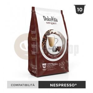 Dolce Vita Capsule Compatibile Nespresso Macchiato - 10 Buc.