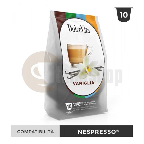 Dolce Vita Capsule Compatibile Nespresso Vaniglietta - 10 Buc.