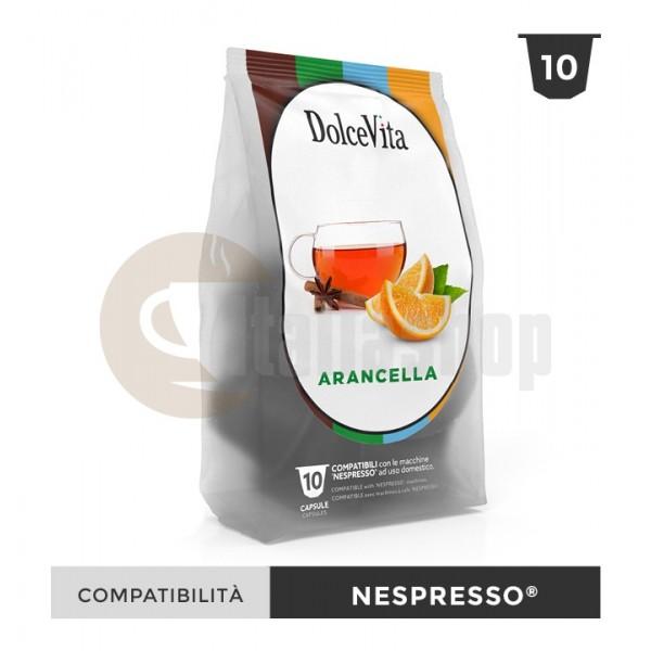 Dolce Vita Capsule Compatibile Nespresso Arancella - 10 Buc.