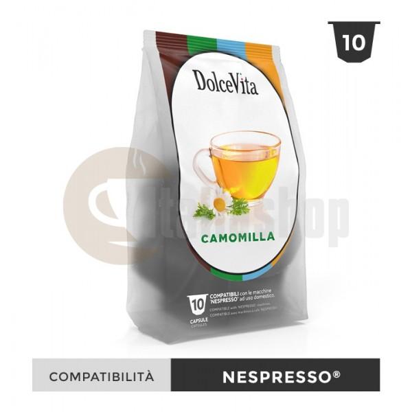 Dolce Vita Capsule Compatibile Nespresso Camomilla - 10 Buc.