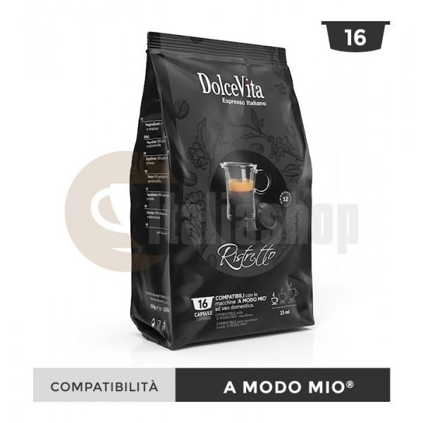 Dolce Vita Capsule Compatibile Lavazza A Modo Mio Ristretto - 16 Buc.