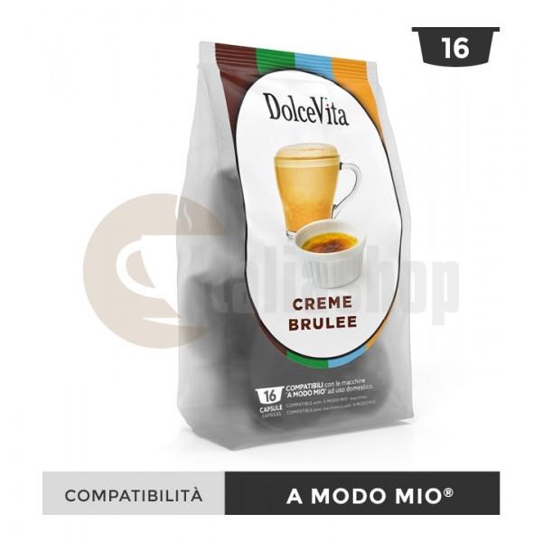Dolce Vita Capsule Compatibile Lavazza A Modo Mio Creme Brulee - 16 Buc.