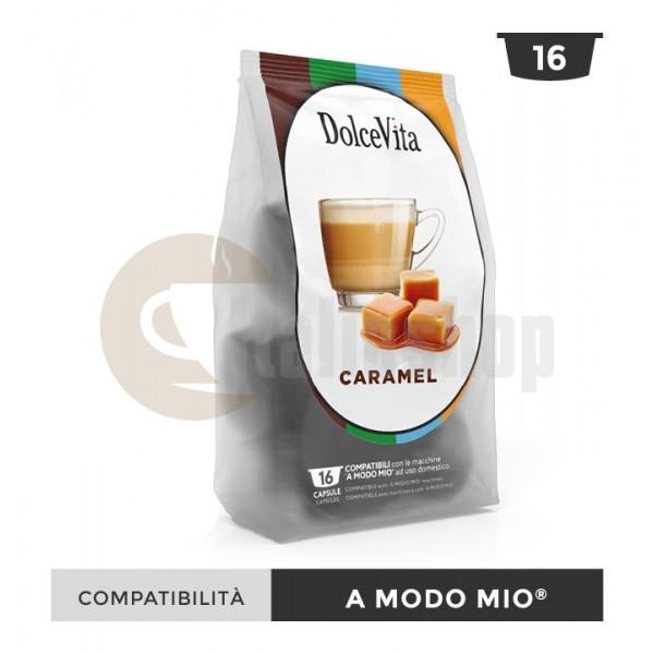 Dolce Vita Capsule Compatibile Lavazza A Modo Mio Caramelito - 16 Buc.