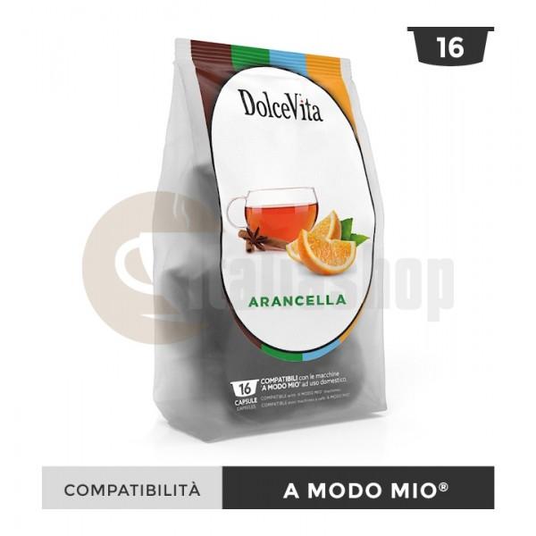 Dolce Vita Capsule Compatibile Lavazza A Modo Mio Arancella - 16 Buc.