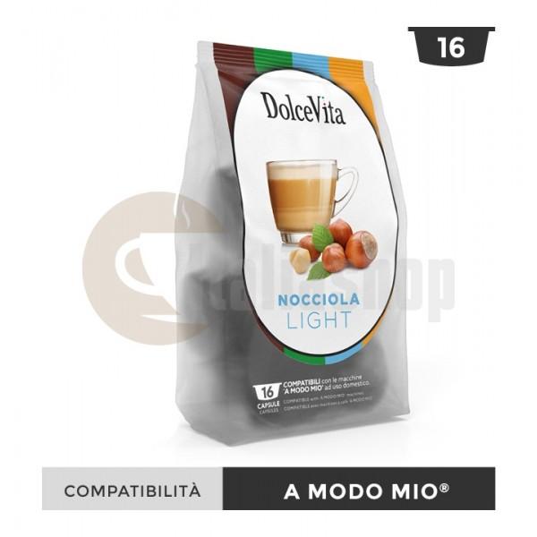 Dolce Vita Capsule Compatibile Lavazza A Modo Mio Nocciolino Light - 16 Buc.