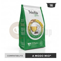 Dolce Vita Capsule Compatibile Lavazza A Modo Mio Zenzero Limone - 16 Buc.
