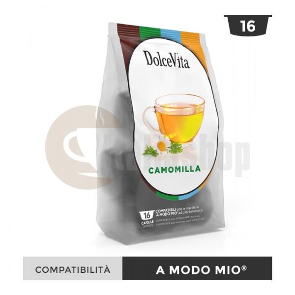 Dolce Vita Capsule Compatibile Lavazza A Modo Mio Camomilla - 16 Buc.