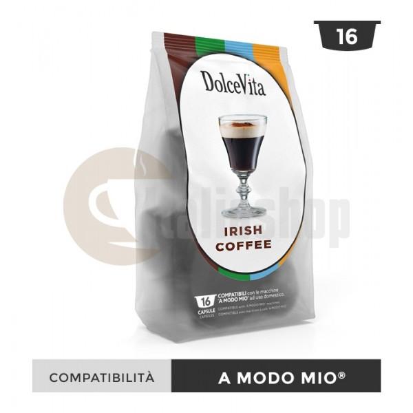 Dolce Vita Capsule Compatibile Lavazza A Modo Mio Irish Coffe - 16 Buc.