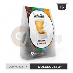 Dolce Vita Capsule Compatibile Dolce Gusto Creme Brulee - 16 Buc.