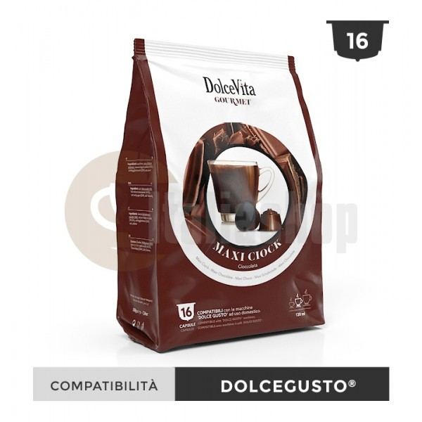 Dolce Vita Capsule Compatibile Dolce Gusto Maxi Ciok - 16 Buc.