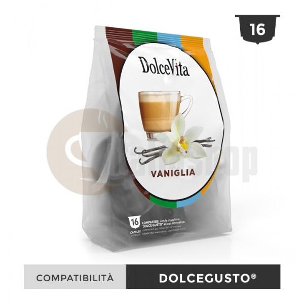 Dolce Vita Capsule Compatibile Dolce Gusto Vanillio - 16 Buc.