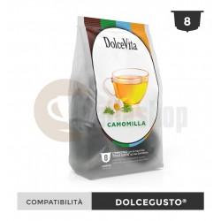 Dolce Vita Capsule Compatibile Dolce Gusto Camomilla - 8 Buc.