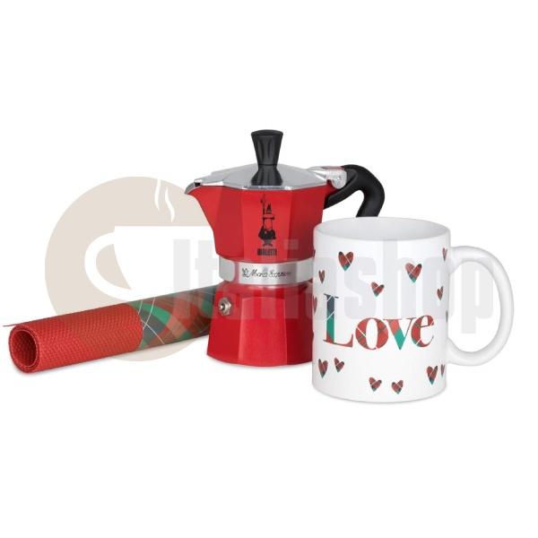 Bialetti Set Filtru de Cafea, Ceașcă și Tampon