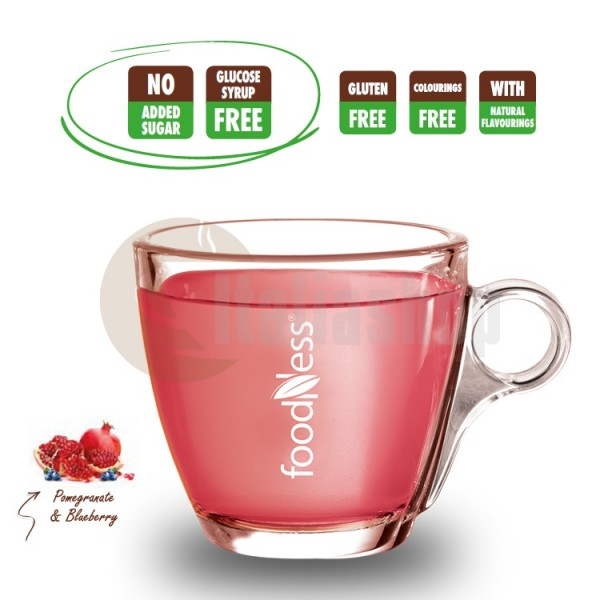 Foodness Capsule Compatibile Dolce Gusto Coacaze Si Rodie - 50 Buc.