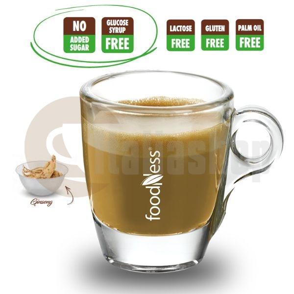 Capsule Foodness Cafea cu Ginseng si Colagen 10 buc