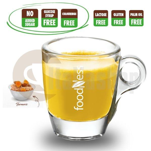 Capsule Foodness Lapte de aur (Curcuma) 10 buc