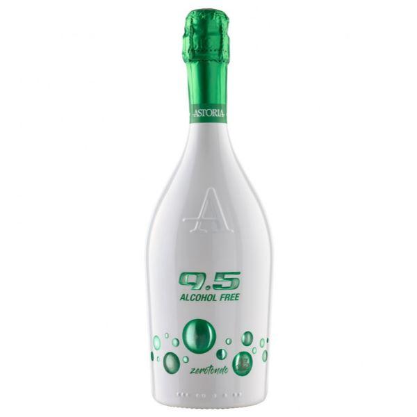 Astoria Vin Alb Spumant 9.5 Alcohol Free Zerotondo 750 Ml