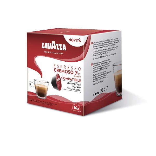Capsule Lavazza Espresso Cremoso Compatibile Dolce Gusto - 16 Buc.