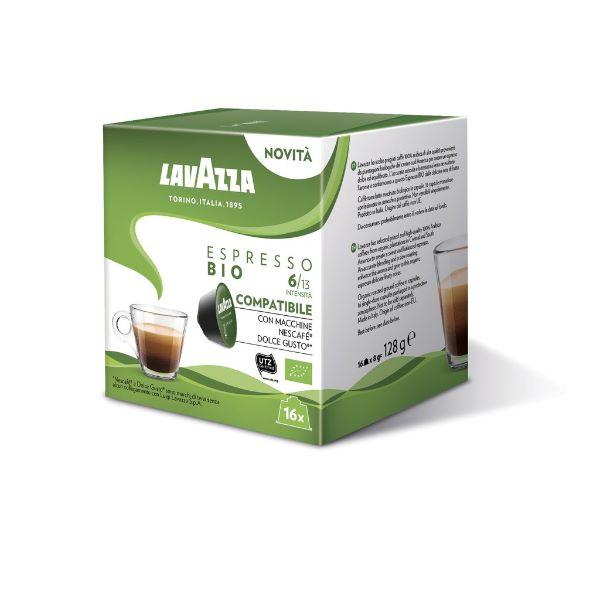 Capsule Lavazza Espresso Bio Compatibile Dolce Gusto - 16 Buc.