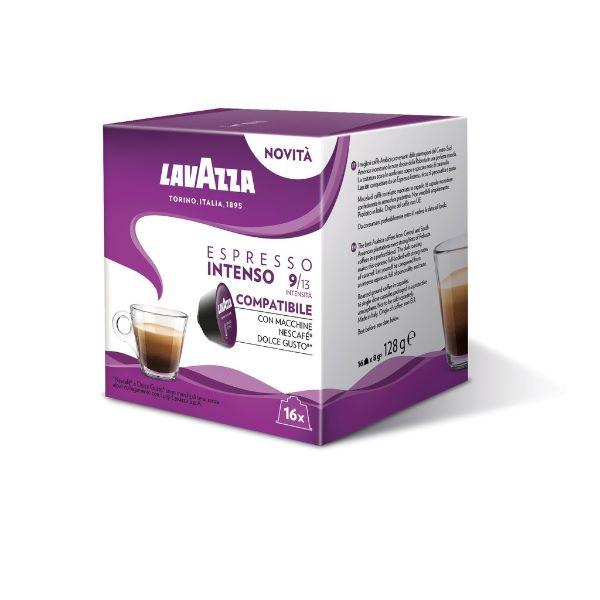 Capsule Lavazza Espresso Intenso Compatibile Dolce Gusto - 16 Buc.