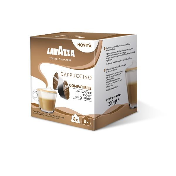 Capsule Lavazza Cappuccino Compatibile Dolce Gusto - 16 Buc.
