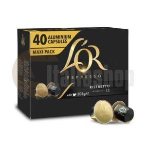 Lòr Ristretto Capsule Compatibile Nespresso 40 Buc.