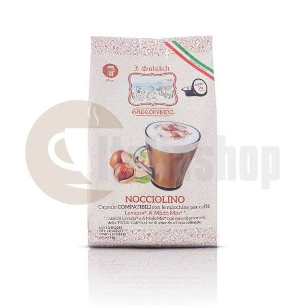 Lavazza A Modo Mio capsule compatibile Gattopardo cu Alună 16 buc.