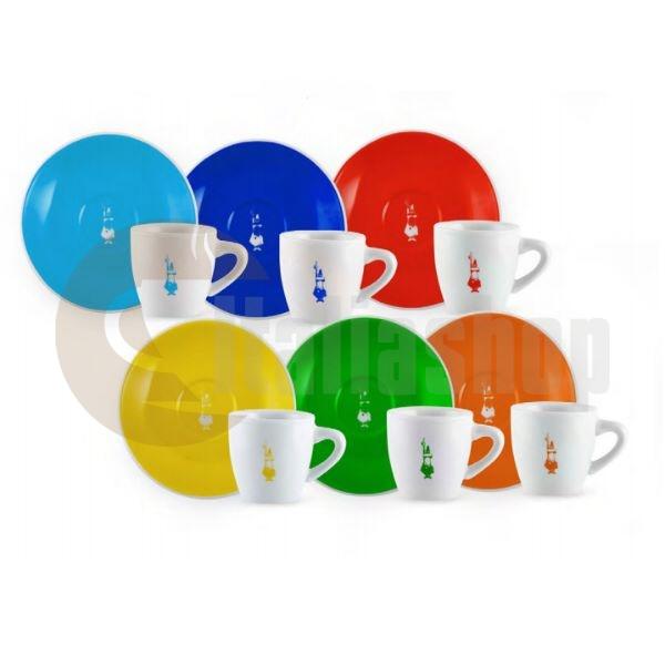 Bialetti Le Colorate Set 6 Cești