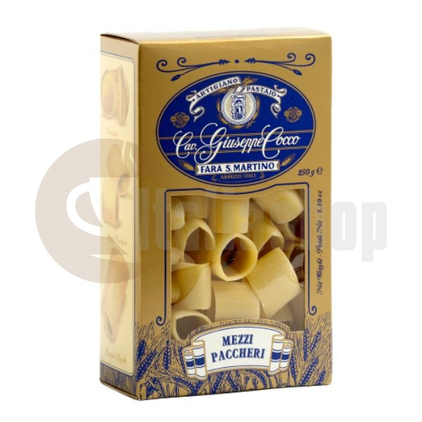 Giuseppe Coccо Paste Mezzi Paccheri №103 250 Gr.