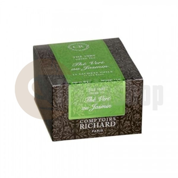 Cafes Richard Ceai verde iasomie - 15 buc.