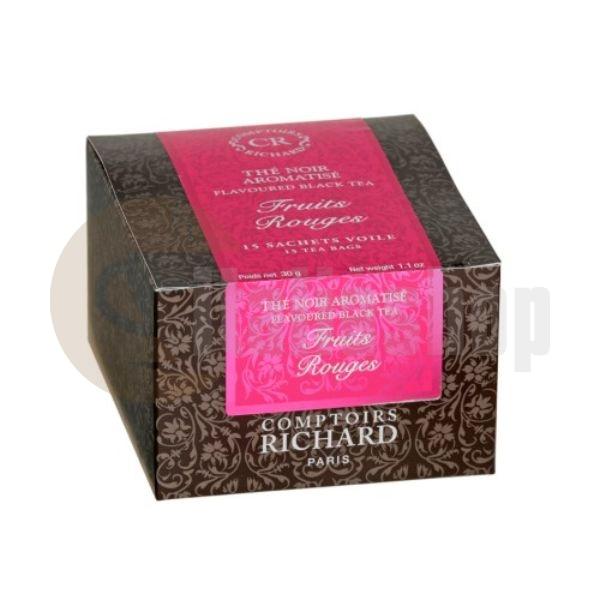 Cafes Richard Ceai negru fructe de pădure - 15 buc.
