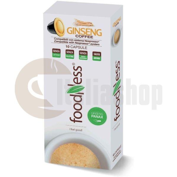Foodness Ginseng Capsule Cafea Compatibile Nespresso -10 Buc.