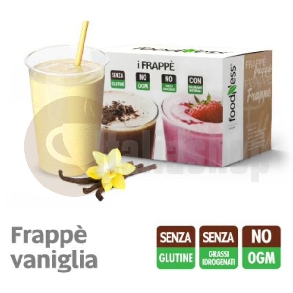 Foodness iFrappe Milk Shake Cu Gust De Vanilie