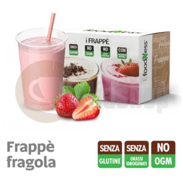 Foodness iFRAPPE Milkshake cu gust de Capsuni