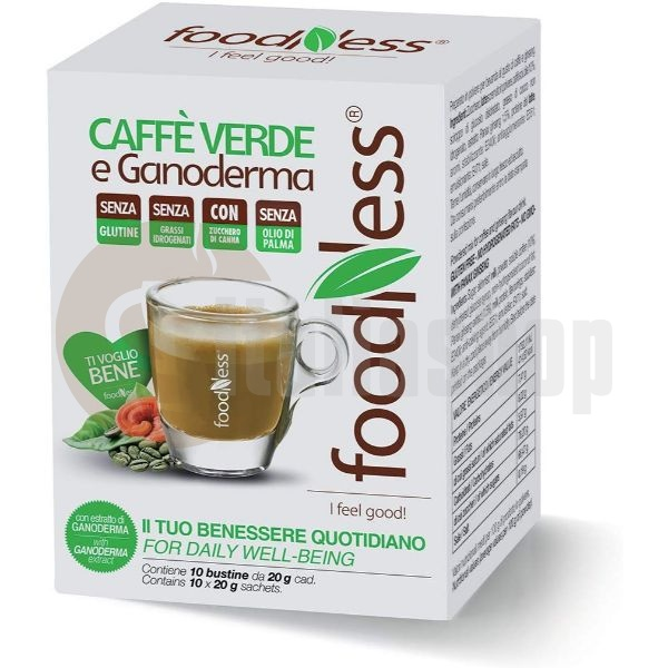 Foodness Cafea Verde Solubilă Cu Ganoderma