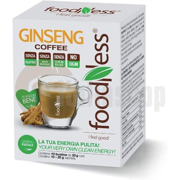 Foodness Cafea Solubilă Cu Ginseng