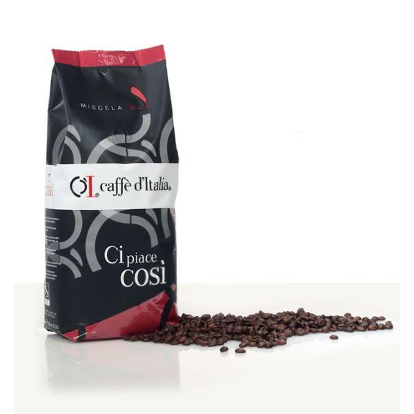 Caffè Ditalia Cipiacecosi Cafea Boabe - 1 Kg.