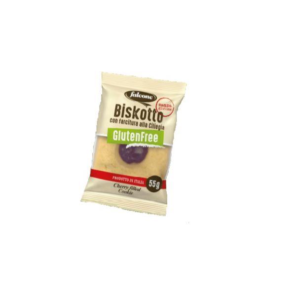 Falcone Biscuite fara gluten cu umplutura de cirese 1buc