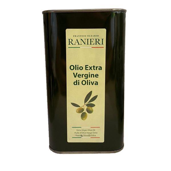 Alfredo Ranieri Ulei de măsline Extra Virgin într-o cutie metalică 1l
