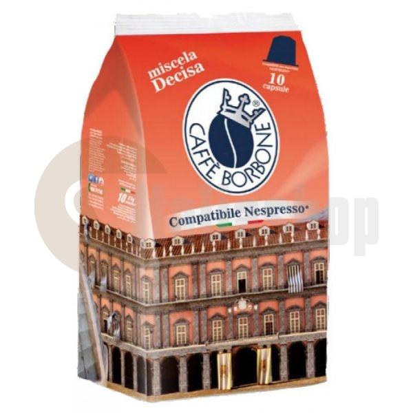 Nespresso capsule compatibile Borbone NERA 10 buc.