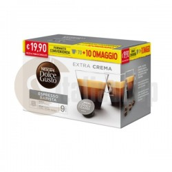 Dolce Gusto Barista 80 capsule + 20 capsule mix