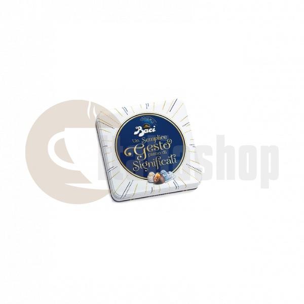 Cutie metalica Baci Perugina cu bomboane de ciocolata - 125g
