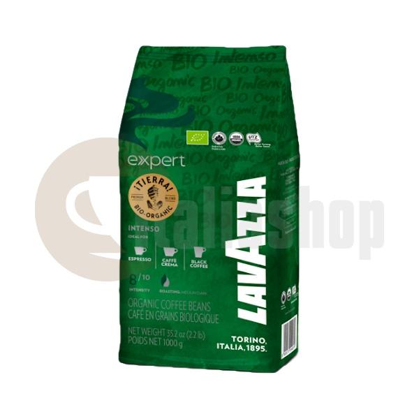 Boabe de cafea Lavazza (i) Tierra Bio Organic Intenso - 1 Kg